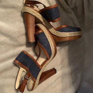 Coach Denim Sandals